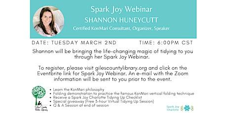 Giles County Public Library: Spark Joy Webinar tickets