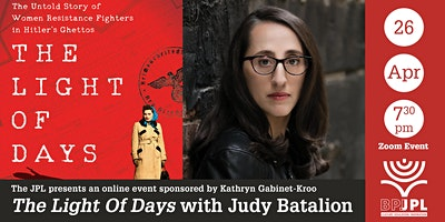 «The Light Of Days» with Judy Batalion