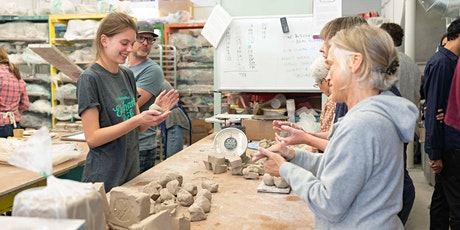 5-week Pottery Sampler (March 21 - April 25) tickets