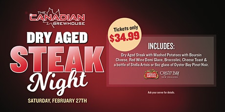 Dry Aged Steak Night (Lloydminster) tickets