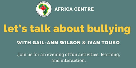 Let's  talk about bullying with Gail-Ann Wilson tickets