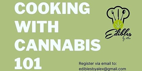 COOKING w/ CANNABIS 1 on 1 tickets