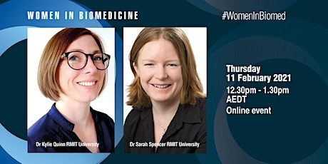 Women in Biomedicine: Kylie Quinn and Sarah Spencer tickets