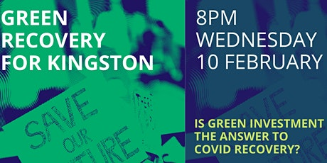 A Green Recovery for Kingston tickets