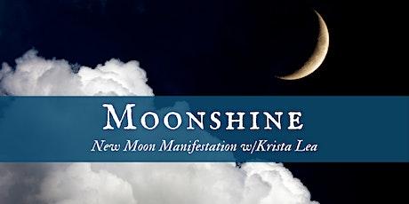 Moonshine: New Moon Manifestation *Virtual* tickets