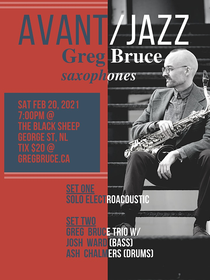 AVANT / JAZZ with Greg Bruce image
