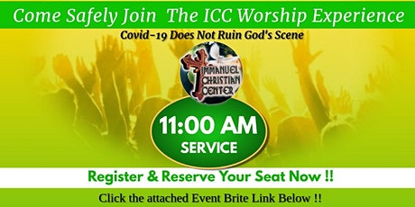 July 18th - ICC Worship Service - 11AM tickets