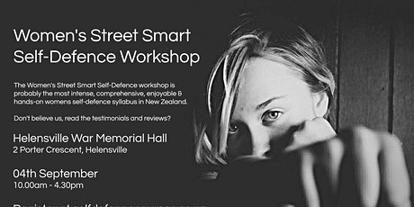 Women's Street Smart Self-Defence Workshop - Helensville September 2021 tickets