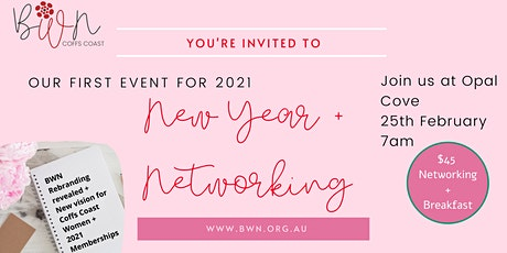 New Year + Networking with BWN tickets