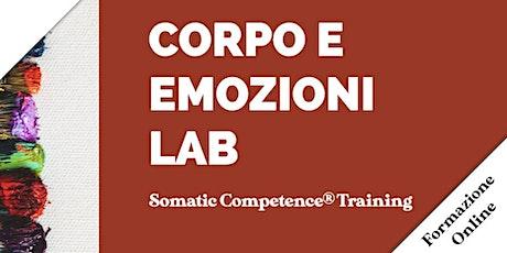 Corpo e Emozioni Lab. Somatic Competence Training biglietti