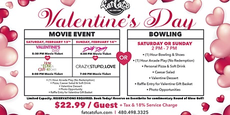 Valentine's Bowling & Movie Events at FatCats Gilbert tickets