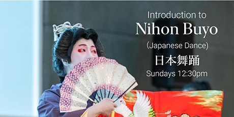 Virtual April Introduction to Nihon Buyo Workshops (Japanese Dance) tickets