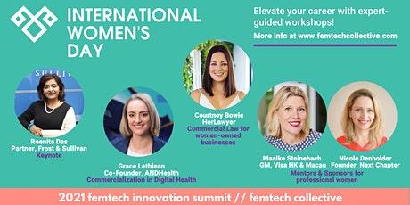 FemTech Innovation Summit: International Women's Day tickets
