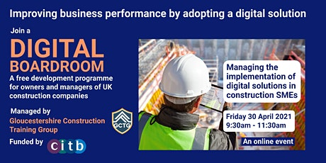Managing the implementation of digital solutions in construction SMEs tickets