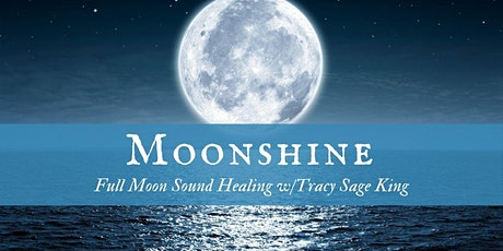 Moonshine: Full Moon Release Sound Healing *Virtual* tickets