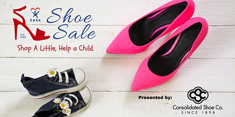 CASA Shoe Sale 2022 tickets