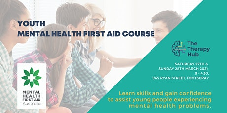 Youth Mental Health First Aid Melbourne tickets