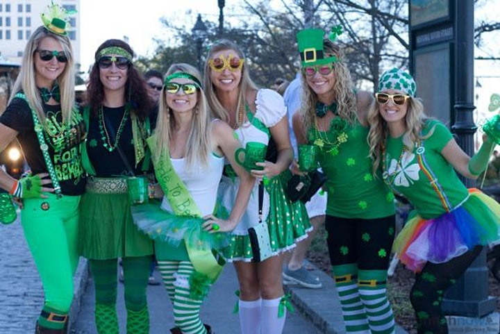 St. Practice Day ~ St. Patrick's Day Themed Bar Crawl image