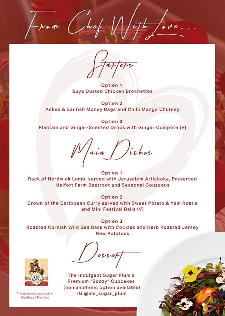 From Chef with Love... The Valentine's Dine @ Home Dinner Party image