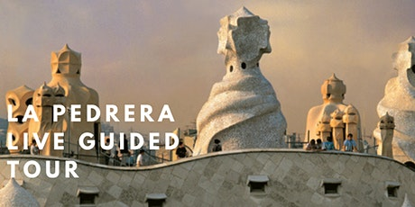 La Pedrera/ Casa Milá.  Barcelona. Live Guided Tour tickets