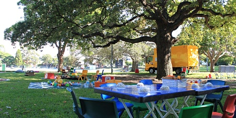 Magic Yellow Bus Outdoor Playgroup - Wednesdays, Petersham Park, Petersham. tickets
