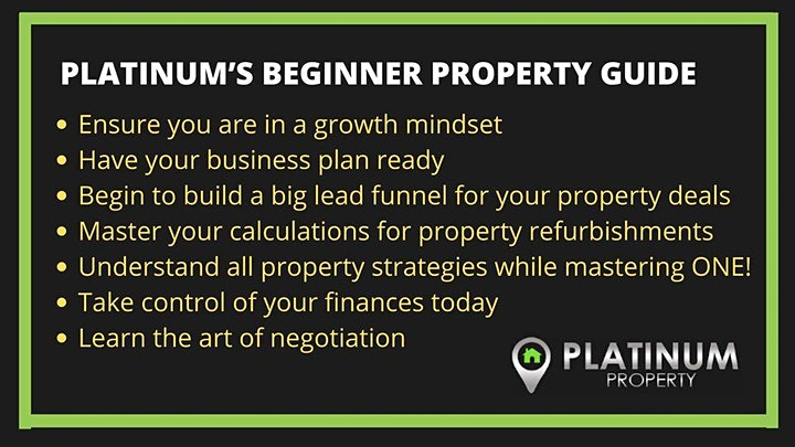Platinum University - 15 Week Intensive Property Training Course image