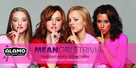 Mean Girls Trivia at Alamo Drafthouse Charlottesville tickets