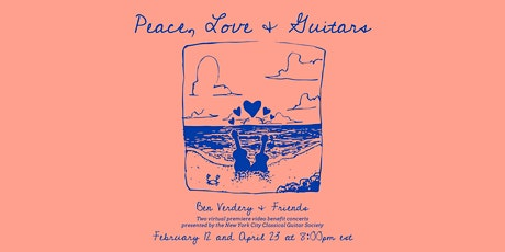 Peace, Love and Guitars tickets