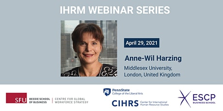 IHRM #8 - Dare to be different! Why (IHRM) Research Needs to Change tickets