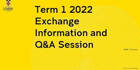 UNSW Exchange General Information Webinar + Q&A tickets