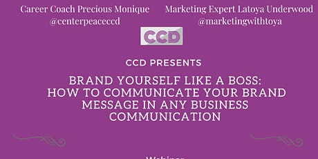 Brand Yourself Like a Boss tickets