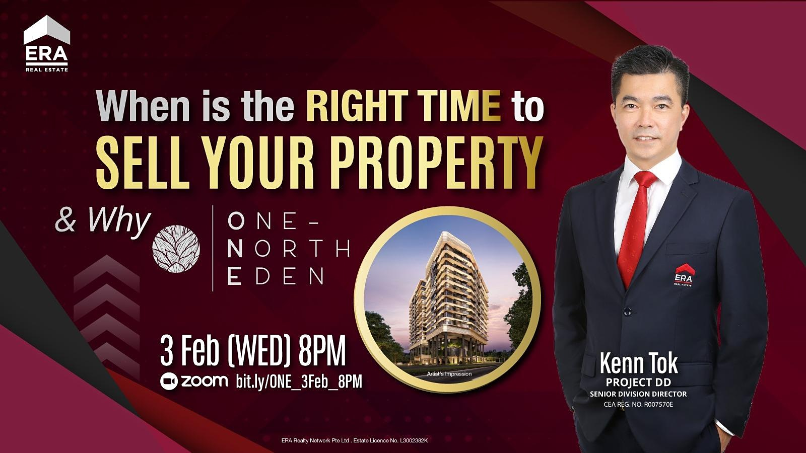 When Is the Right Time to Sell Your Property and Why One-North Eden