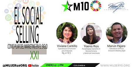 Aprende con Viviana Cantillo sobre el Social Selling, un pilar de marketing tickets