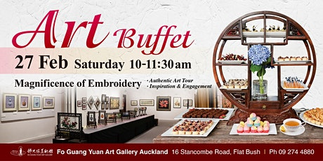 Art Morning Tea Buffet  - Magnificence of Embroidery tickets