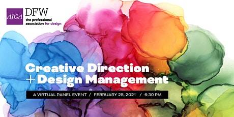 Panel: Creative Direction and Design Management tickets