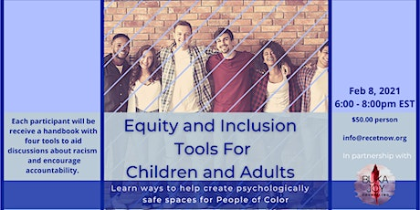 Equity and Inclusion Tools For Children and Adults tickets