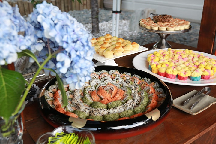 Art Morning Tea Buffet  - Magnificence of Embroidery image