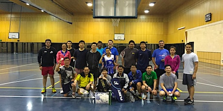 Tuesady Badminton Session tickets