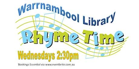 Warrnambool Rhymetime, Wednesdays 2:30pm tickets
