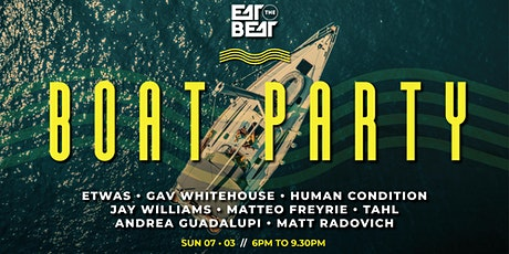 Eat The Beat: Labour Day Boat Party tickets