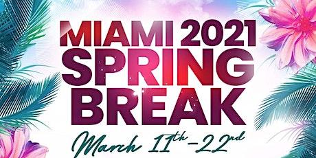 Official Miami Spring Break 2021 billets