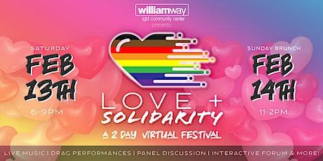 Love + Solidarity tickets