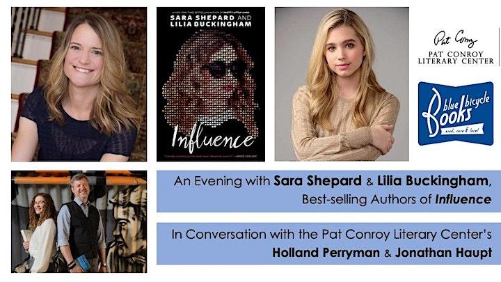 Influence: An Evening with Sara Shepard & Lilia Buckingham image