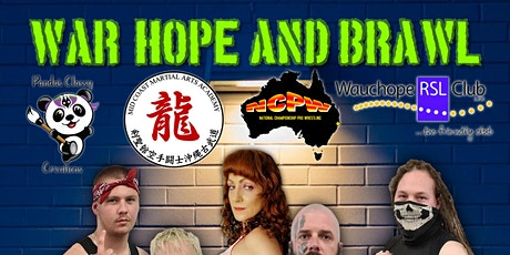 NCPW PRESENTS: WAR, HOPE AND BRAWL tickets