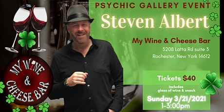 Steven Albert: Psychic Gallery Event - Wine and cheese 3/21 tickets