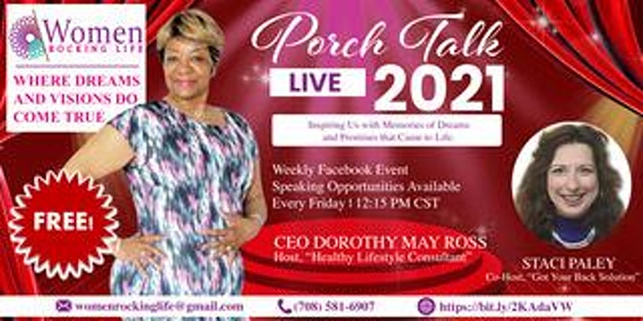 Porch Talk  Friends & Family Reunion 2021 image