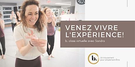 b. class® virtuelle  avec Sandra billets