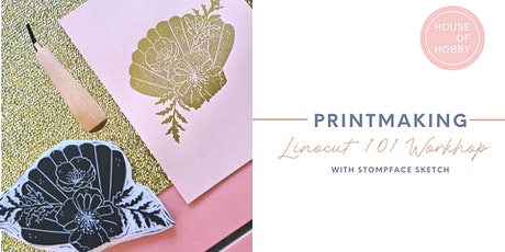 Printmaking - Linocut 101 Workshop tickets