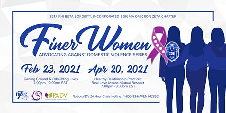 Finer Women Advocate Against Domestic Violence tickets