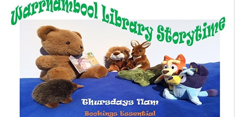 Warrnambool Library Storytime, Thursdays 11am tickets